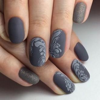 Дизайн ногтей фото новинки зима фото