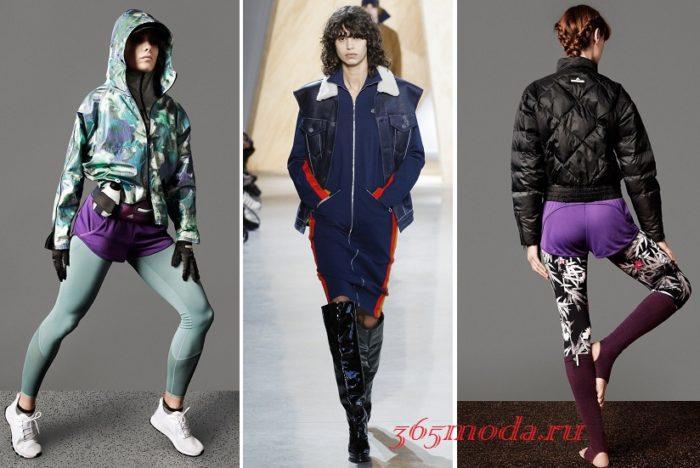 спортивный стиль 2021-2022: модные луки