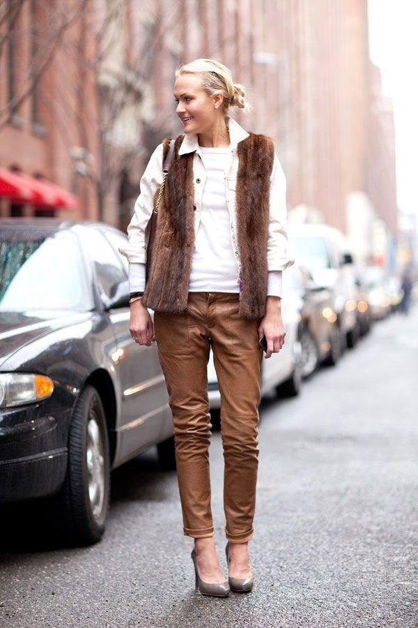 уличная мода осень-зима: Женские штаны