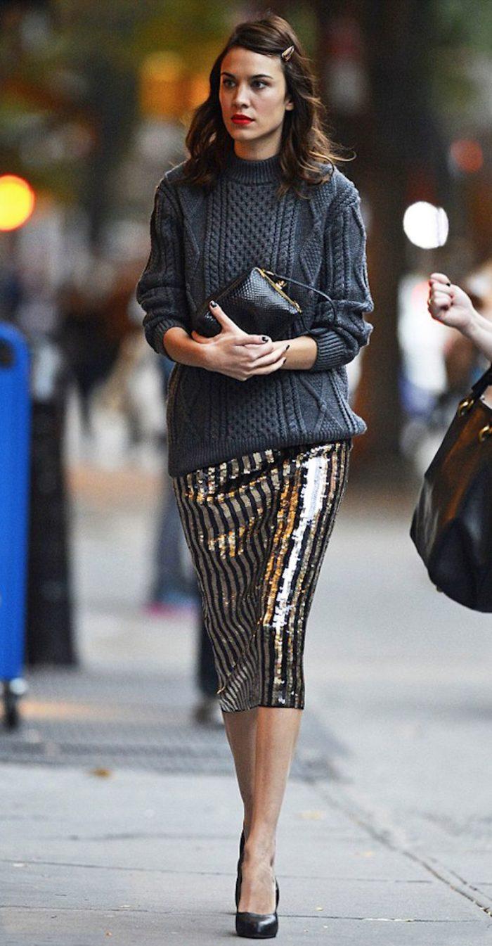 Юбка в уличном стиле