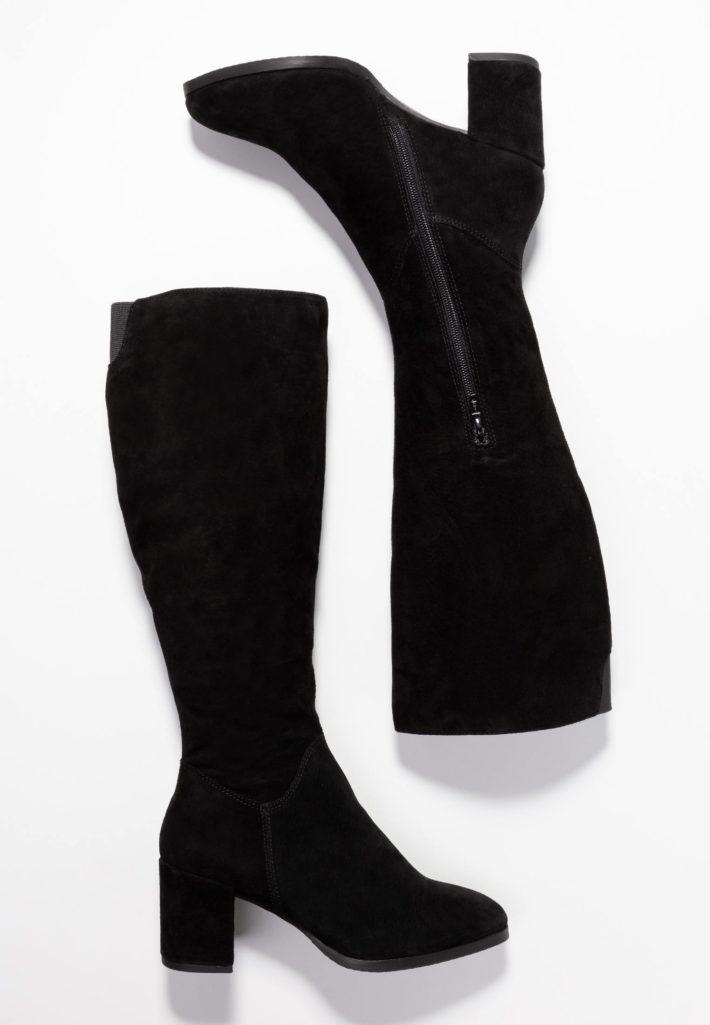 Женские сапоги черный