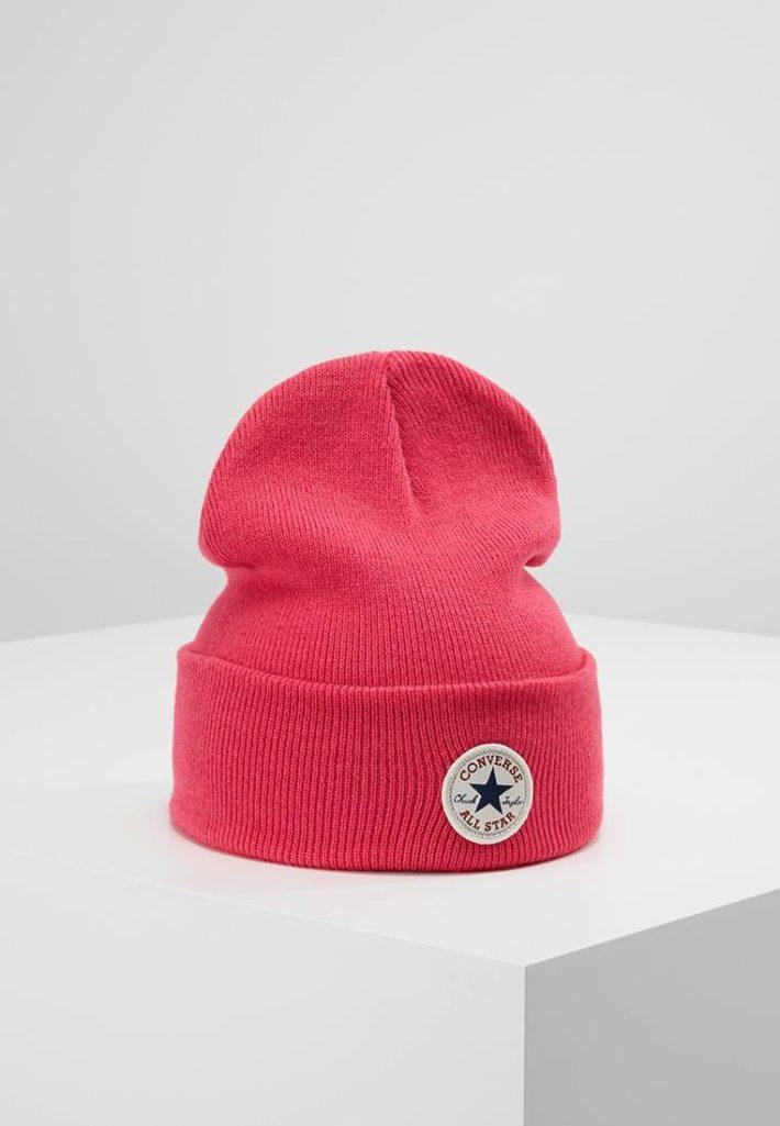 Женская спортивная шапка розовая