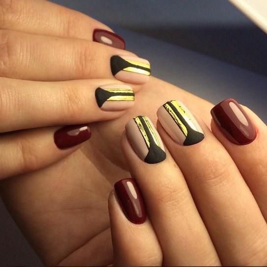Дизайн ногтей гель-лаком 2018-2019