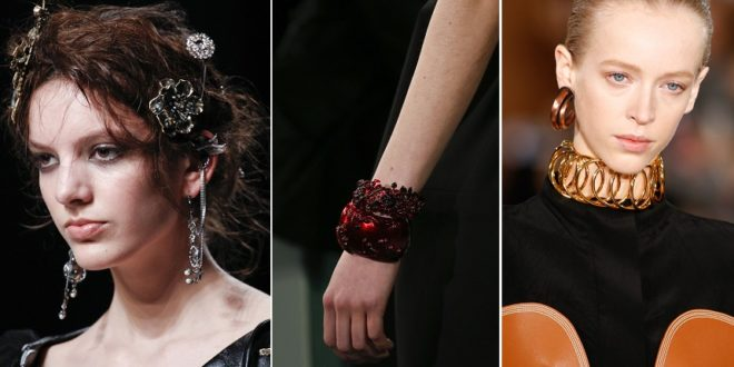 аксессуары женской моды осень зима 2018