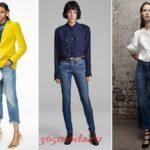 Модные женские джинсы осень-зима 2018 2019 новинки фото