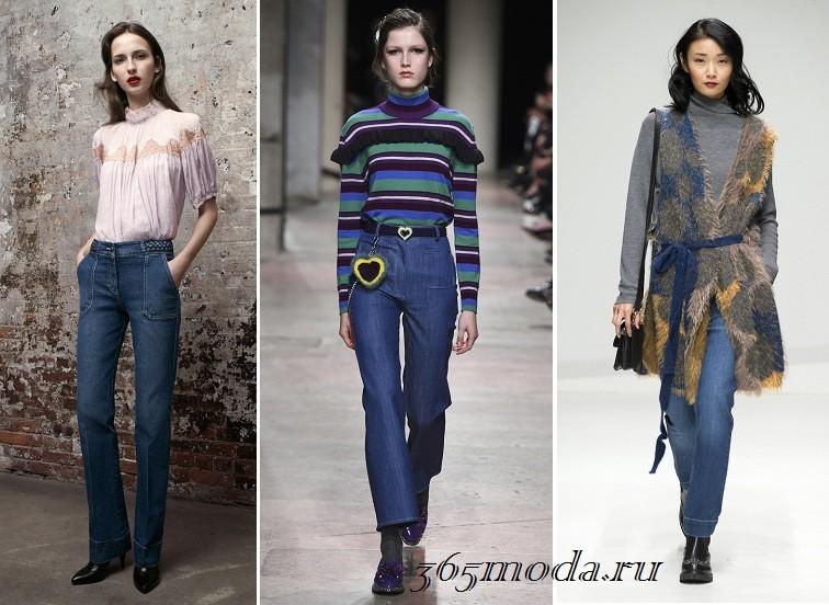 Джинсы мода женские