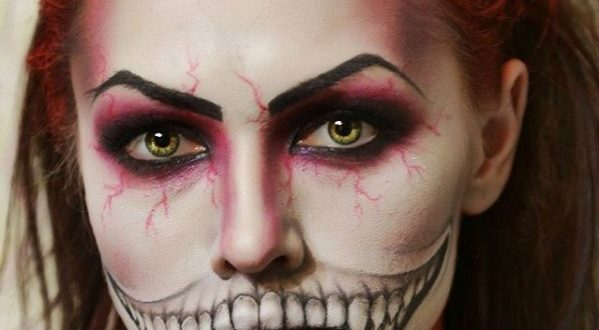 Модный макияж на Хэллоуин 2020: новинки идеи фото