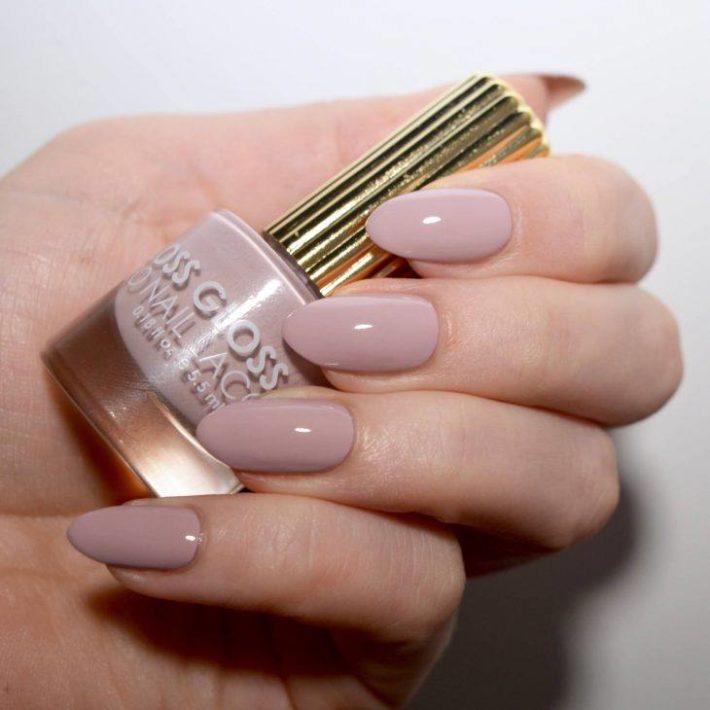 дизайн ногтей гель лаком розовый