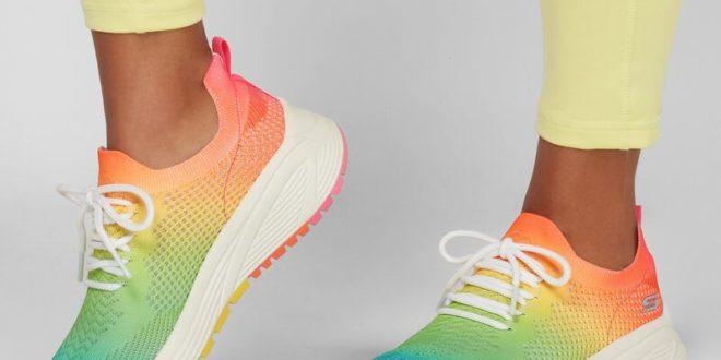Модные кроссовки кеды сникерсы осень-зима 2021–2022: фото