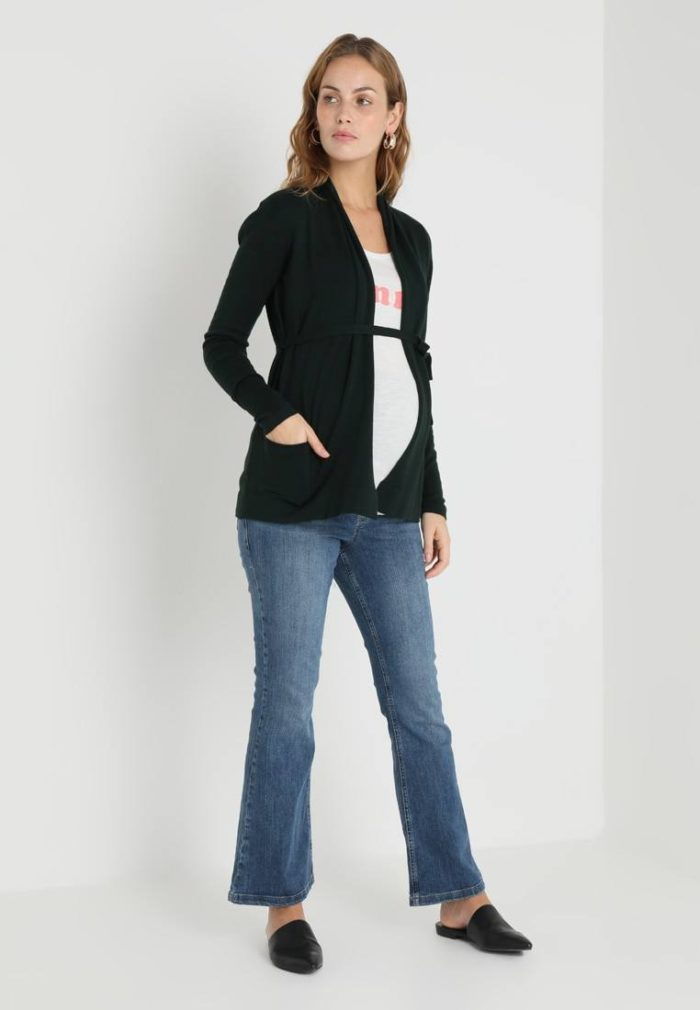 черная блузка под джинсы