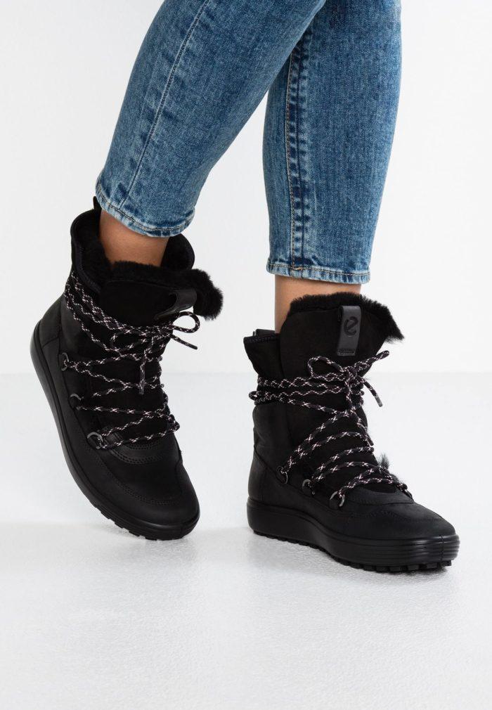 обувь на толстой подошве с мехом