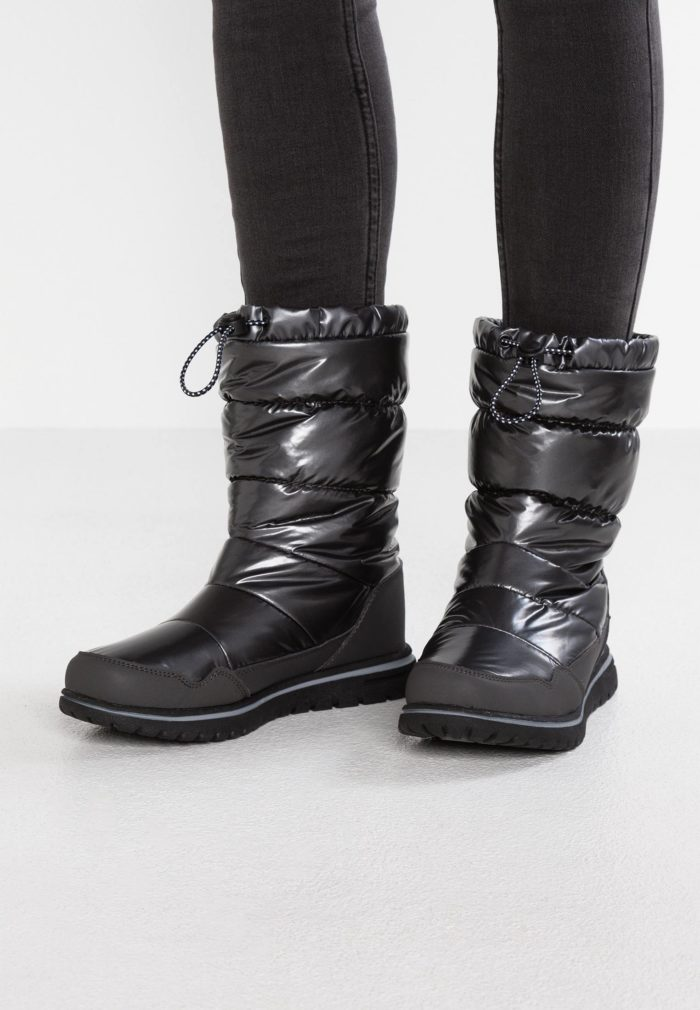 теплая обувь дутая