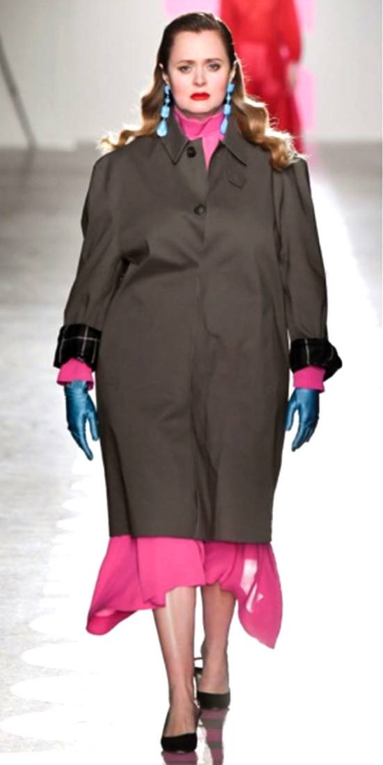 одежда для полных осень-зима 2019-2020: Стильный образ