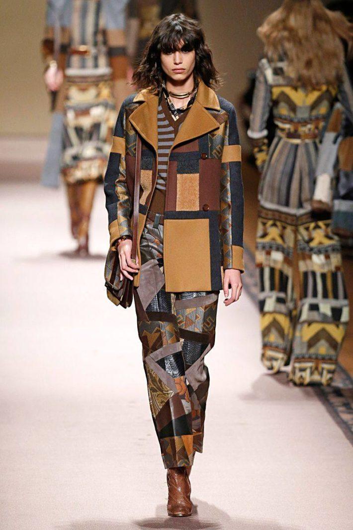 модные принты сезона осень-зима: одежда пэчворк