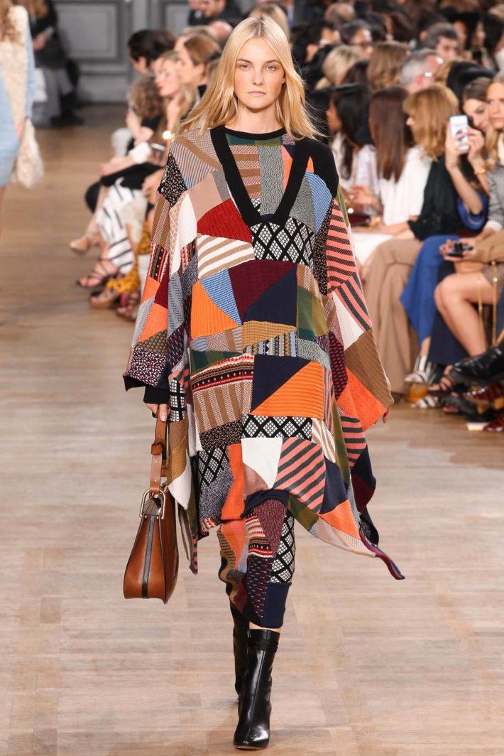 модные принты сезона осень-зима: женская одежда пэчворк