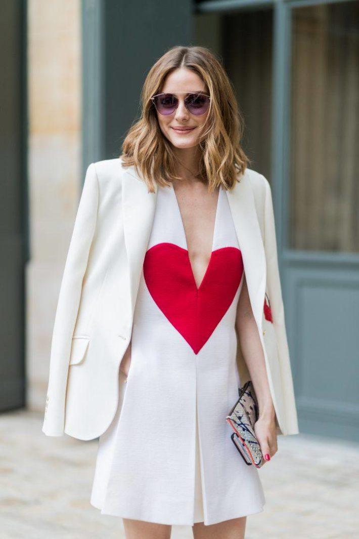 Принт для женской одежды сердца