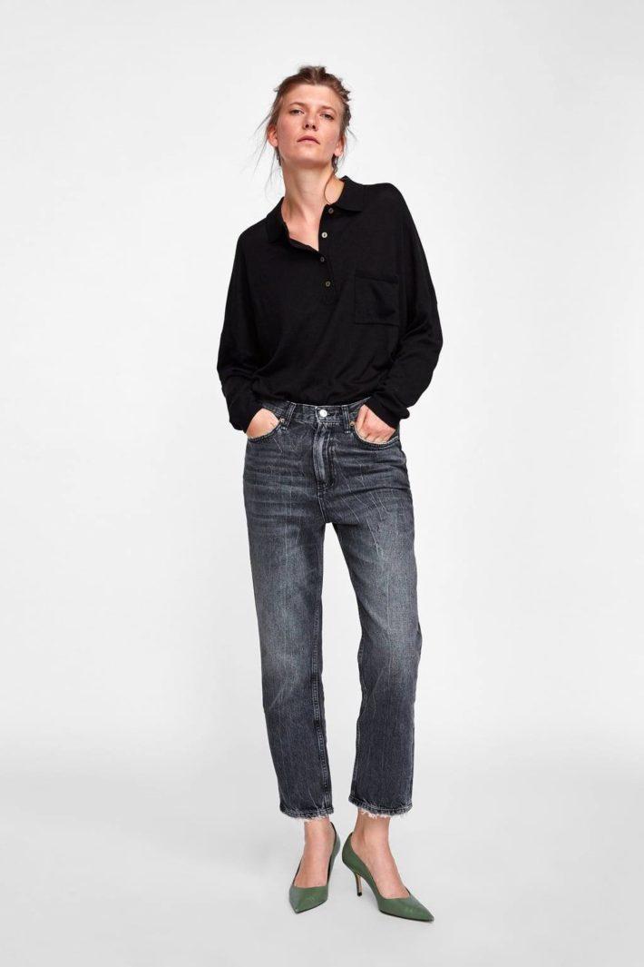 женские джинсы осень-зима 2019-2020