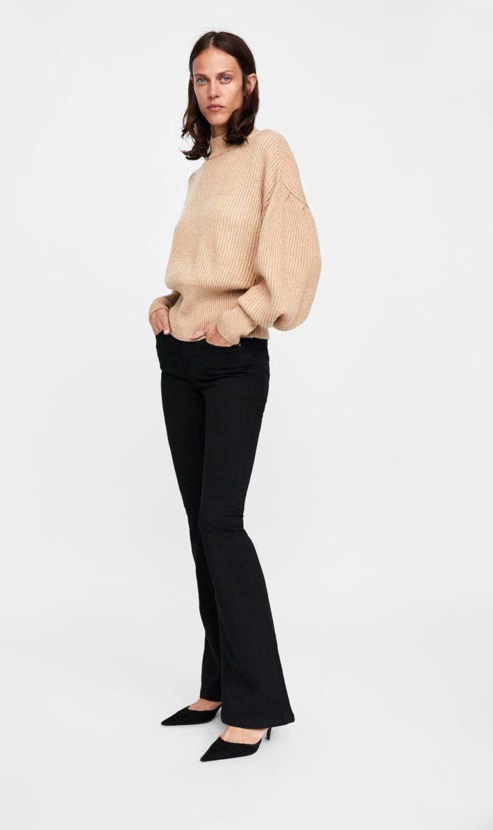 Женские джинсы клеш