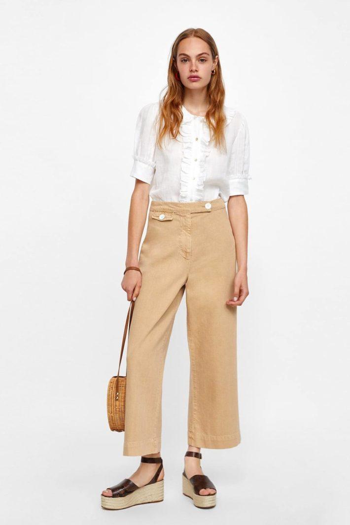 Женские джинсы укороченные