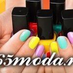 Дизайн ногтей шеллаком весна-лето 2018 стильные идеи