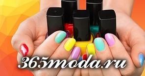 Дизайн ногтей шеллаком весна-лето 2020: стильные идеи