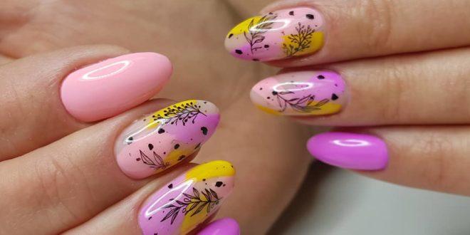 Дизайн ногтей гель-лаком весна-лето 2021: стильные идеи