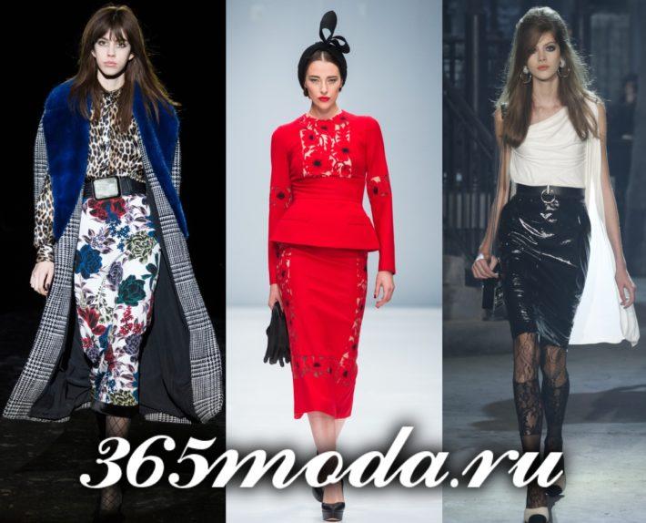 юбки 2019-2020 года модные тенденции фото