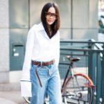 Волосы за воротник: модная укладка весной 2017 года