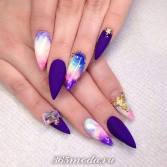 acrylic-nail-art-for-winters