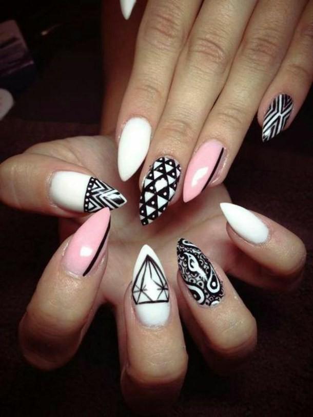 дизайн ногтей модные тенденции фото