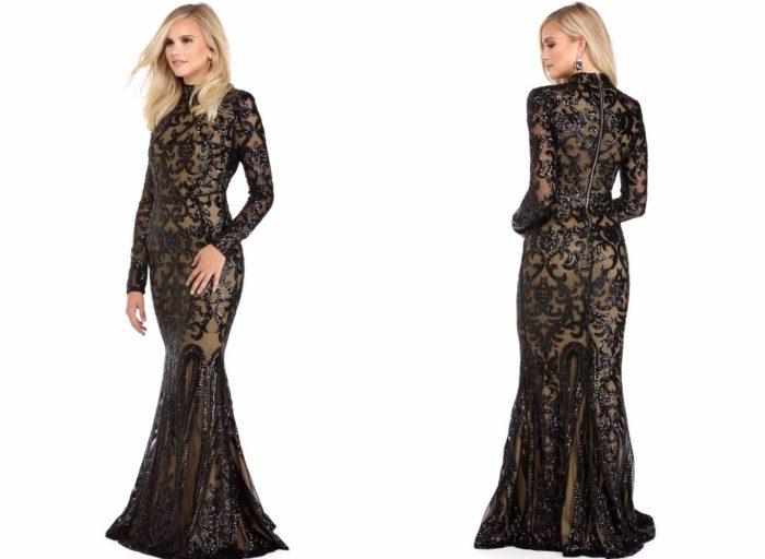 Вечерние платья 2019-2020: Черное красивое