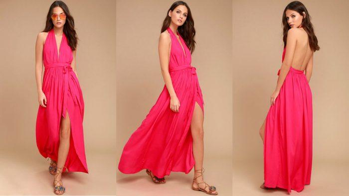 Вечерние платья: Красное