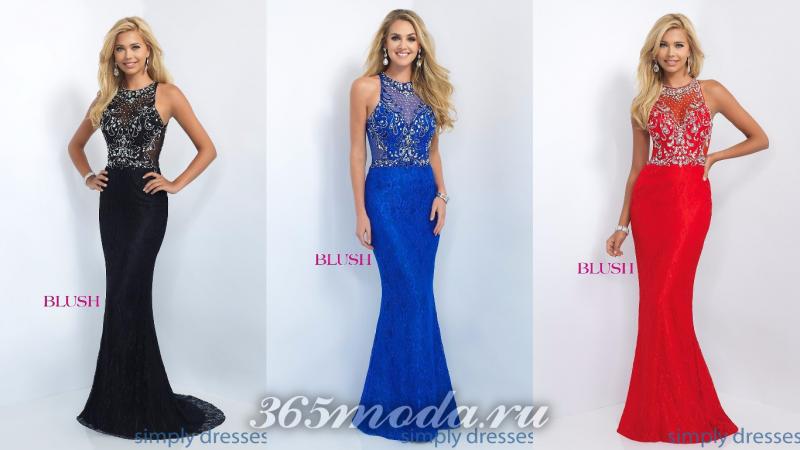 Красивые вечерние платья 2018