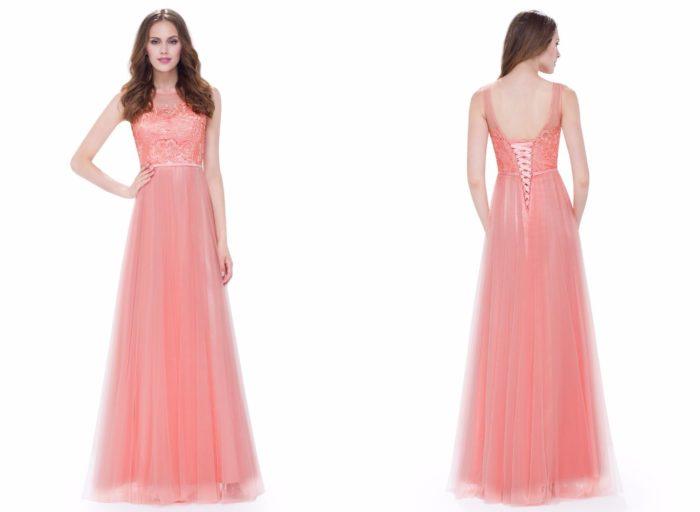 Вечерние платья 2019-2020: Розовое красивое
