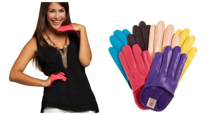 модные яркие перчатки 2019-2020
