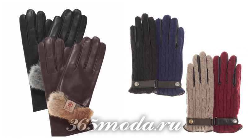 модные теплые перчатки 2017 2018