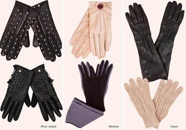модные перчатки сезона 2017 2018