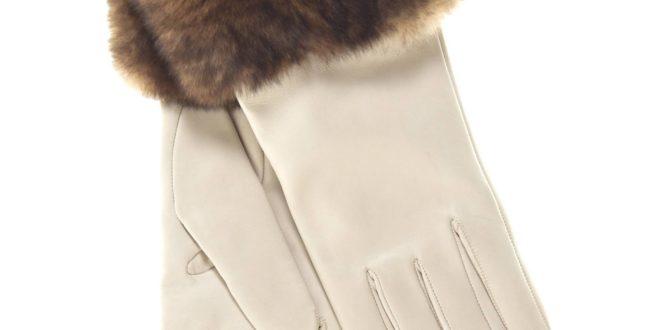 модные теплые перчатки