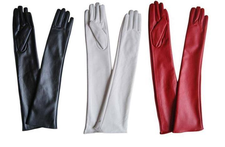 модные длинные перчатки 2019 2019
