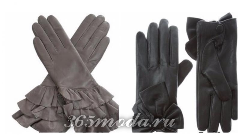 стильные перчатки 2017 2018