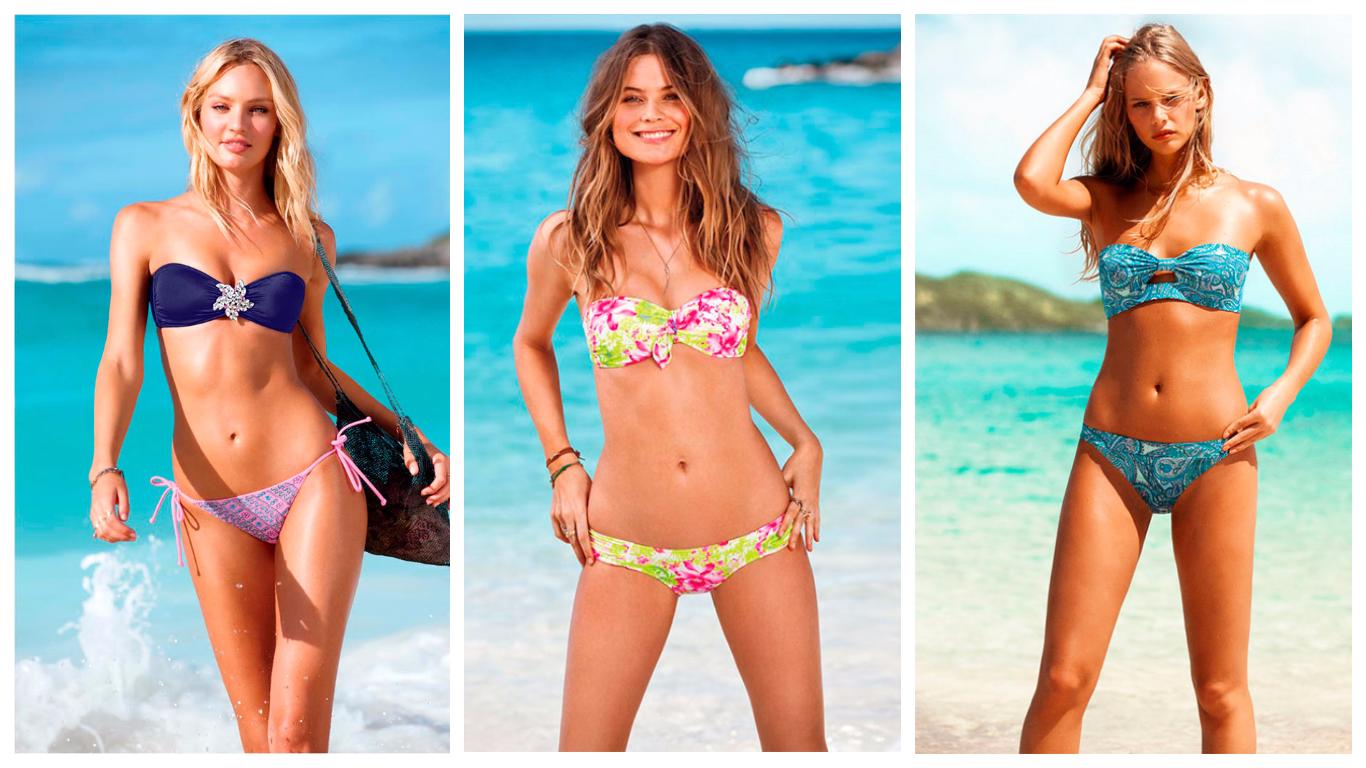 Девушки а вы бы одели на пляж мини бикини