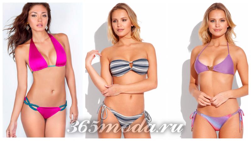 модные купальники сезона 2020-2021: мини-бикини, микро бикини