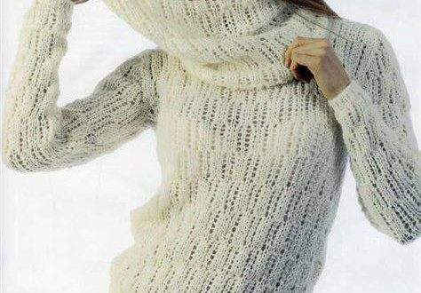 модный зимний свитер