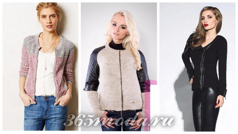 модные зимние свитера сезона 2018