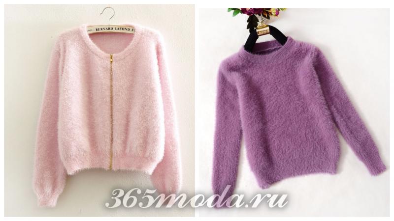 зимний теплый свитер 2018 в тренде