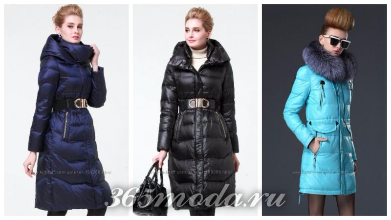 модные пуховики сезона зима 2018-2019