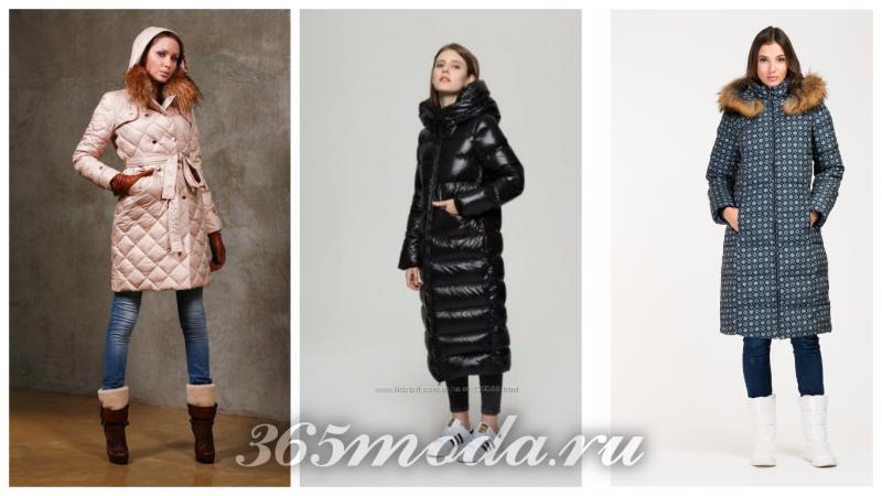модный женский зимний пуховик 2018-2019