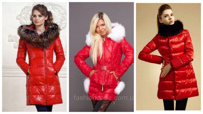 модные зимние пуховики 2019-2020