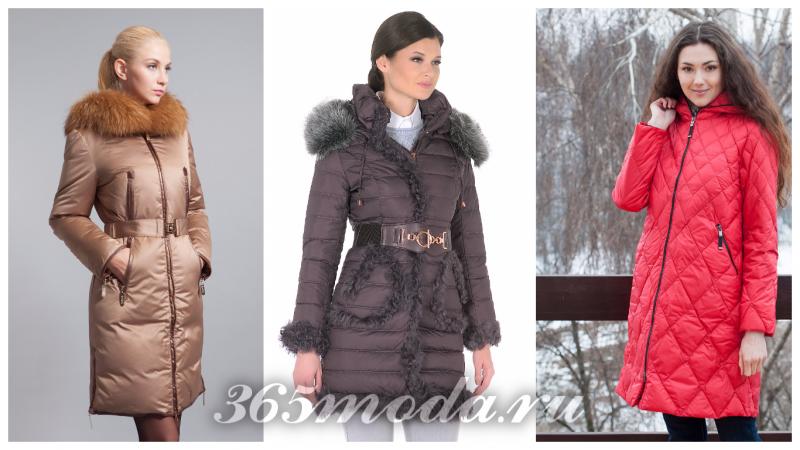 модные зимние пуховики 2018-2019 года