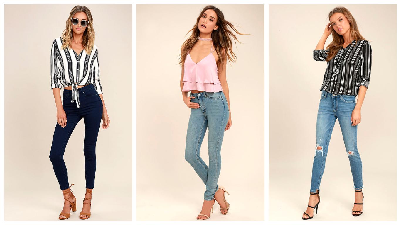 Какие джинсы в моде в этом году фото